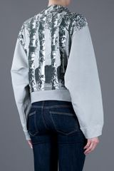 Balenciaga Tree Print Jumper in Gray (grey) - Lyst