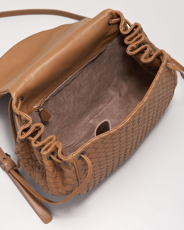 59a1ca19ae878 Bottega Veneta Cervo Flap Shoulder Bag dine-out.co.uk