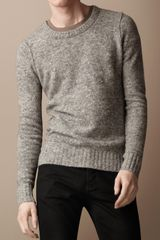 Burberry Brit Merino Cashmere Blend Sweater - Lyst