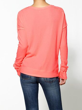 Free People Solid Washed Pullover - Lyst
