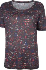 Iro Patterned Tshirt - Lyst