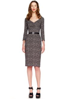 Michael Kors Tweed Sheath Dress - Lyst