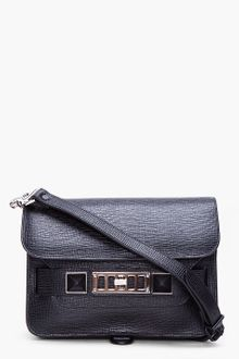 Proenza Schouler PS11 Black Mini Classic Bag - Lyst