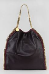 Stella McCartney Galway Faux Leather Falabella Tote - Lyst