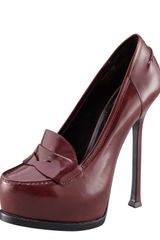 Yves Saint Laurent Tribtoo Spazzalato Loafer - Lyst