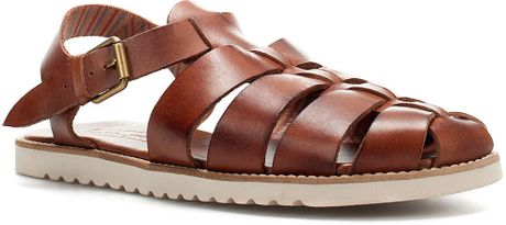 Zara Jelly Shoes In Brown For Men Lyst