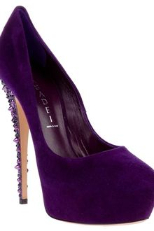 Casadei Gem Detail Pump - Lyst