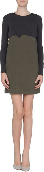 Doudou Short Dress - Lyst