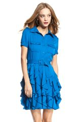 Rachel Zoe Joplin Ruffle Skirt Dress  - Lyst