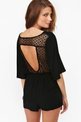 Nasty Gal Moonrise Romper - Lyst