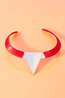 Nasty Gal Spike Collar Necklace - Lyst