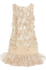 RED Valentino Embellished Tulle Dress - Lyst