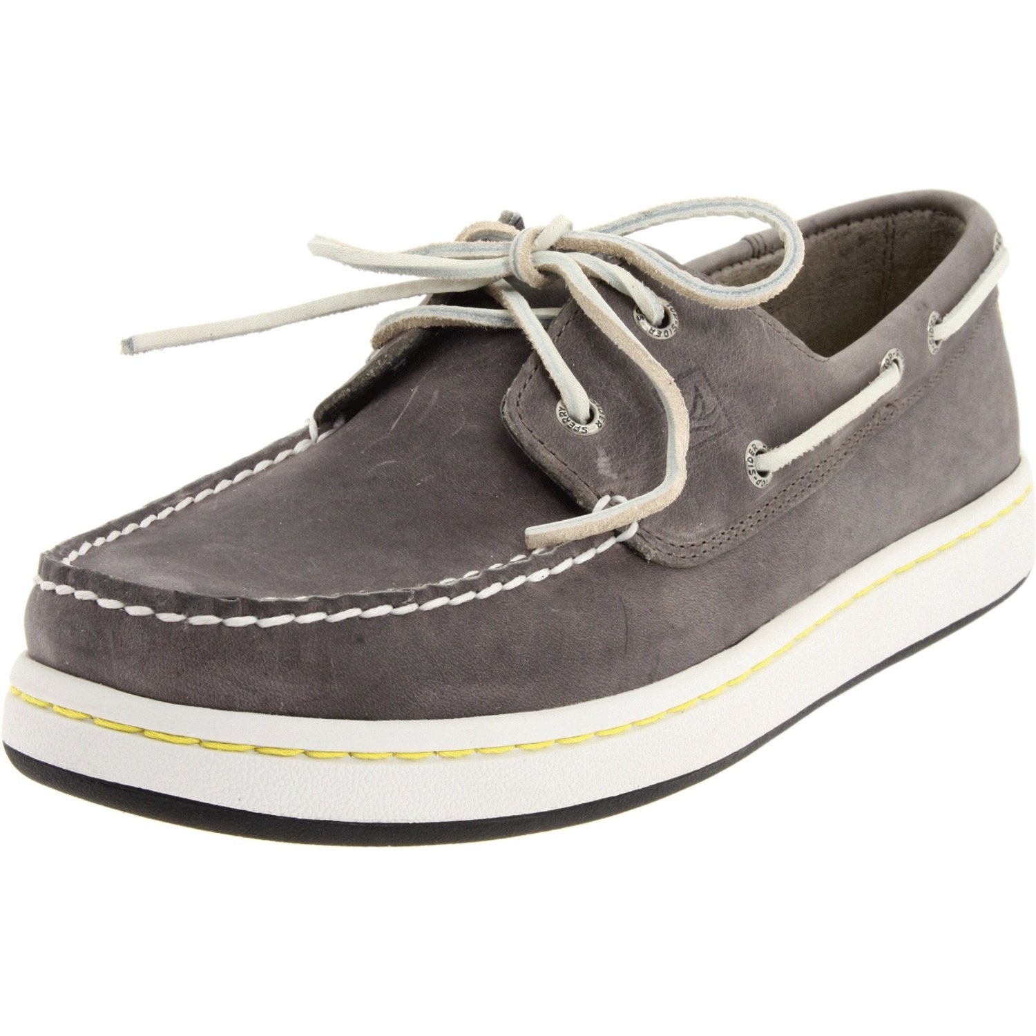 Sperry Topsider Mens Sperry Cup Boat Shoe in Gray for Men grey