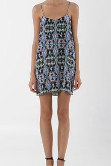Tibi Layla Ikat Slip Dress - Lyst