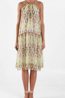 Tibi Layla Ikat Halter Dress - Lyst