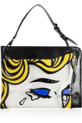 3.1 Phillip Lim The Breakup Pvc and Leather Shoulder Bag - Lyst