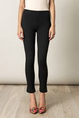 Givenchy Zipped Hem Leggings - Lyst