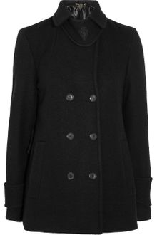 Gucci Double Breasted Wool Coat - Lyst