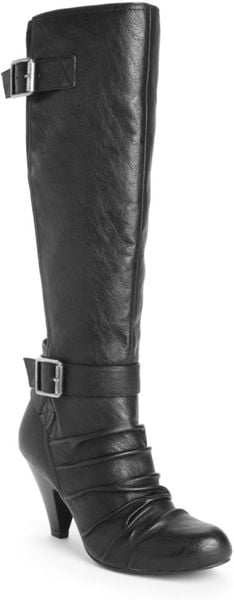 Jessica Simpson Chen Boots in Black - Lyst