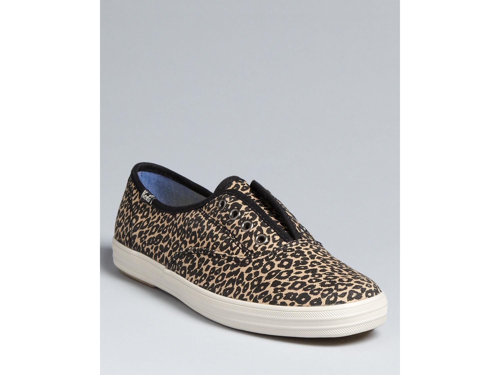 champion leopard keds slip