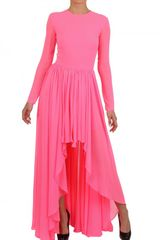 Maria Escoté Techno Jersey Long Dress - Lyst