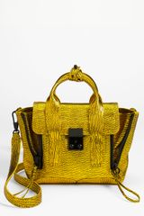 3.1 Phillip Lim Pashli Mini Leather Satchel - Lyst