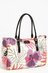 Kate Spade Hadley Tote in Multicolor (purple multi) - Lyst