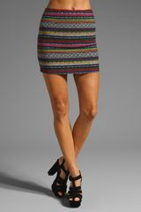 Ladakh Hot Knights Mexican Aztec Woven Skirt - Lyst