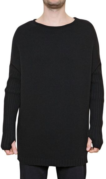 Laura G Ribbed Knit Sweater - Lyst