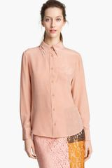 Moschino Cheap & Chic Silk Blouse - Lyst