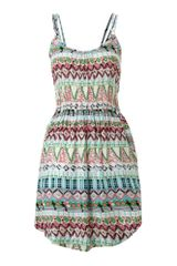 Pussycat Pussycat Printed Sun Dress - Lyst