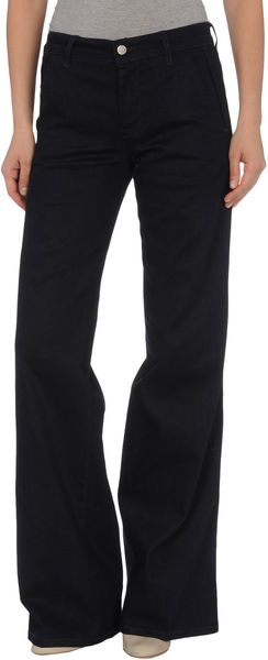 Stella Mccartney Denim Trousers in Blue - Lyst