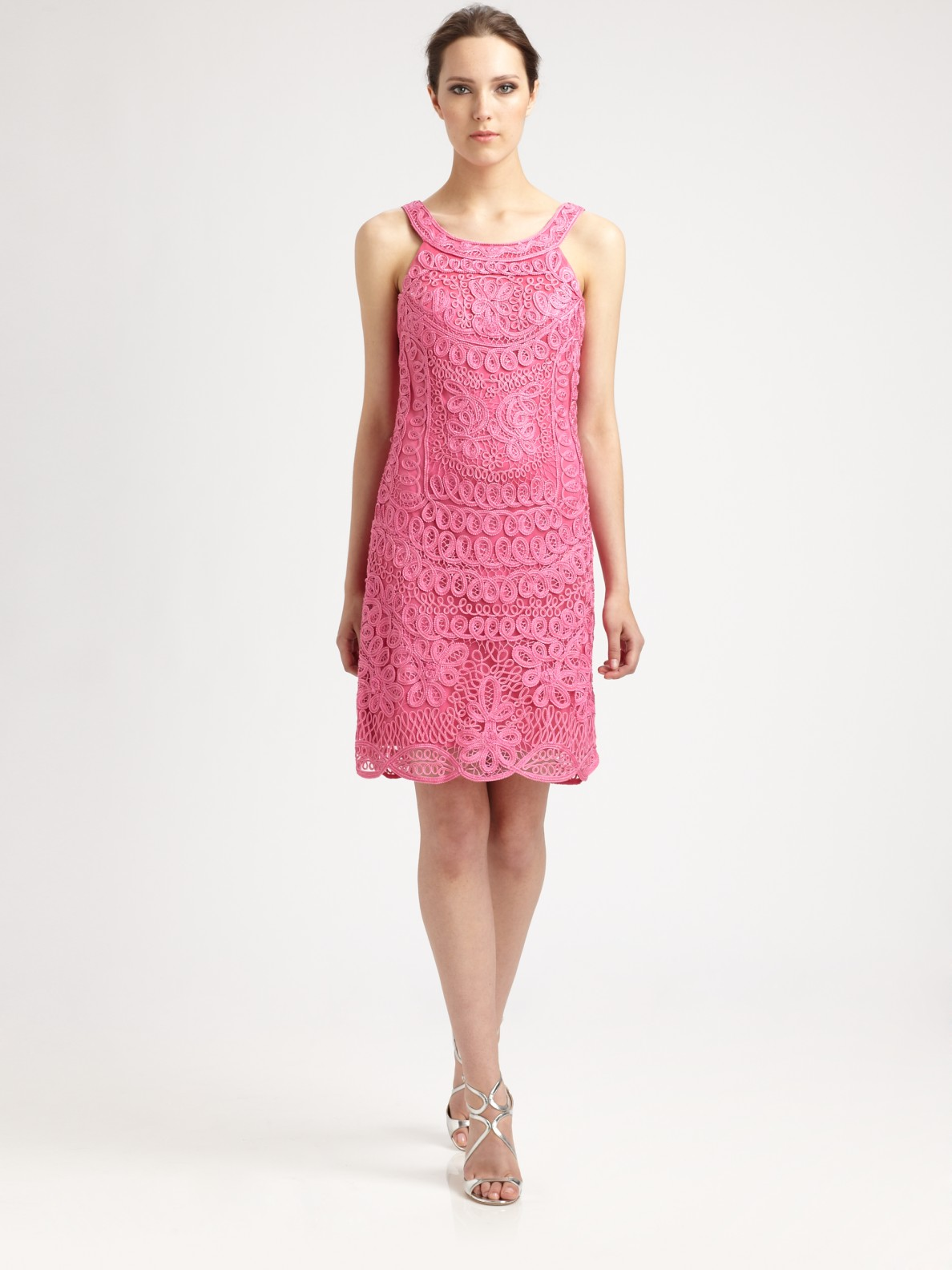 Magnífico Vestidos De Cóctel Sue Wong Ornamento - Colección de ...