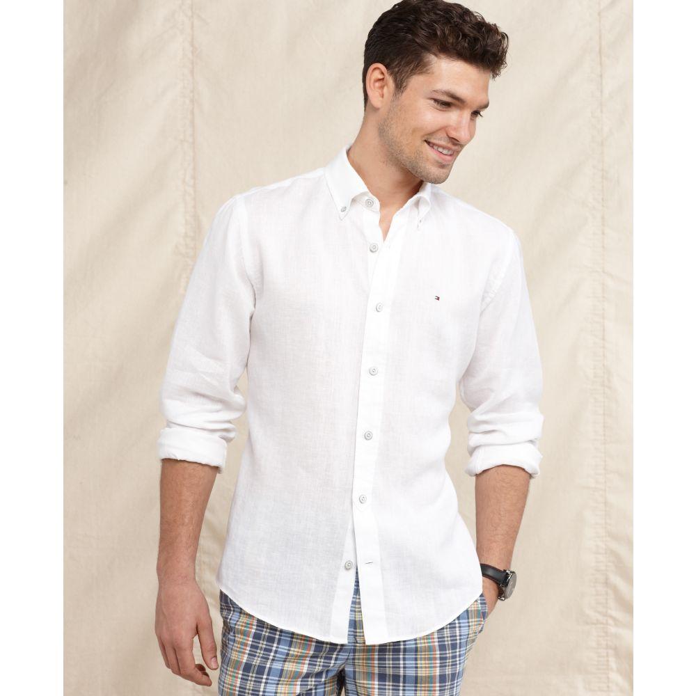 4fdaca8aa57 Tommy Hilfiger Slim Fit Stretch Dress Shirt