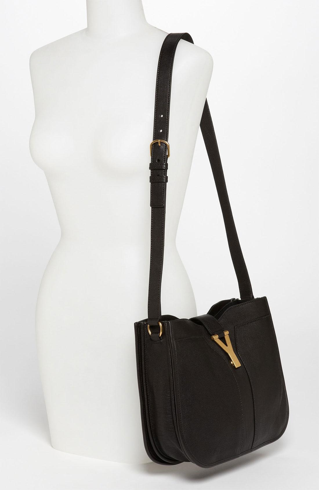 Saint laurent Cabas Chyc Medium Shoulder Bag in Black (nero)   Lyst