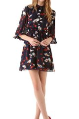 Alice + Olivia Rebekah Shirtdress in Multicolor - Lyst
