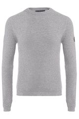 Armani Jeans Ribbed Sweater - Lyst