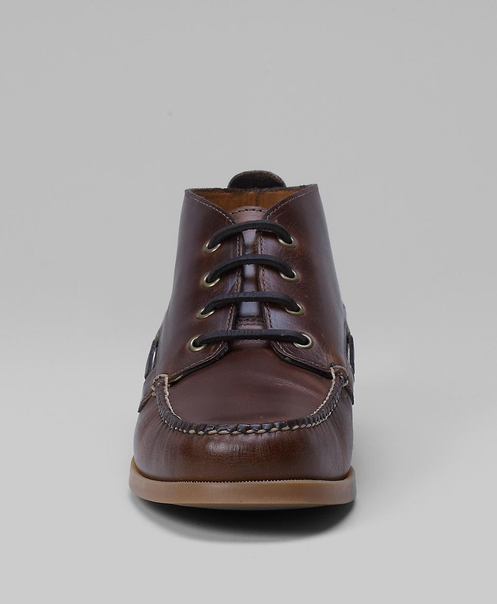22b4b257b29 Lyst - Brooks Brothers Chukka Boat Boots in Brown for Men