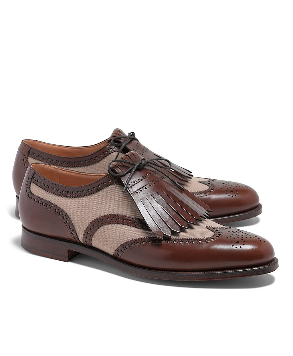 Leather Oxfords Golf Shoes