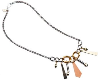 Dirty Librarian Chains Cirrus Necklace - Lyst