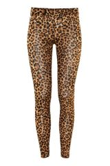H&m Leggings in Animal (leopard) - Lyst