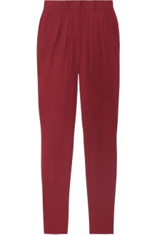 Isabel Marant Ricco Tapered Georgette Pants - Lyst