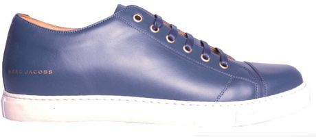 Marc Jacobs Plimsoll Blue in Blue for Men - Lyst