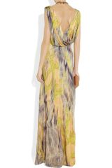 Matthew Williamson Printed Silkchiffon Gown in Multicolor (multicolored) - Lyst