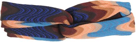 Missoni Hair Accessory in Blue - Lyst