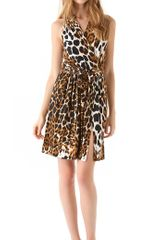 Robert Rodriguez Leopard Jersey Dress - Lyst