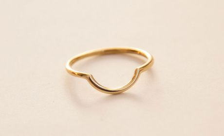 Silva/bradshaw Ero Ring in Gold - Lyst