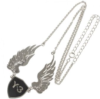 Y-3 Wings Necklace Silver - Lyst