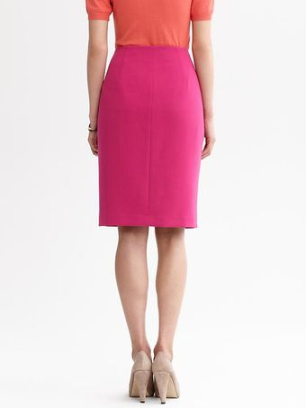 Banana Republic Welt Pocket Pencil Skirt - Lyst