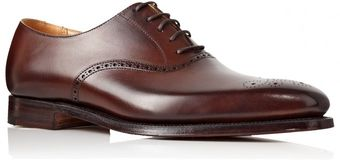 Crockett & Jones Edgeware Ox Punch - Lyst
